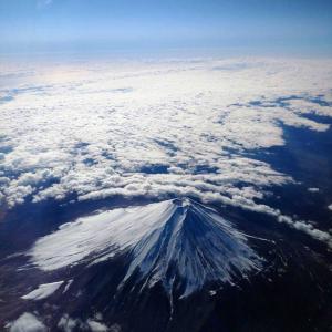 富士は日本よりの山❤️