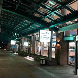 函館空港。