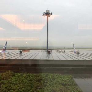 羽田空港は天気が悪い⤵︎