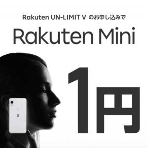楽天MINI保有ユーザーの個人的感想。