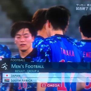 オリンピック・サッカー日本勝利