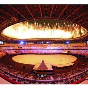 オリンピック開会式途中感想。