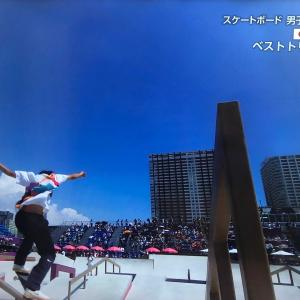 速報スケートボードストリート堀米雄斗金!
