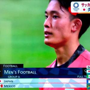 サッカーオリンピック日本代表2-1勝