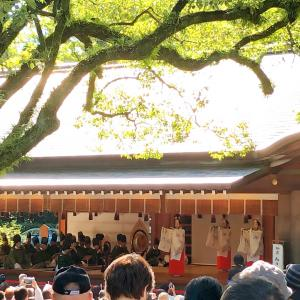 名古屋の熱田神宮でも「即位礼当日祭」が行われました