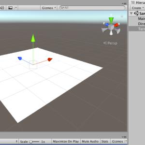【Unity】基本的な地形(Terrain)の作成方法とテクスチャの設定方法【初心者向け】