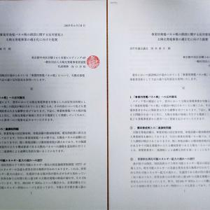 美作市の事業用発電パネル税に対する反対意見書・提案書をASPEnとして送付