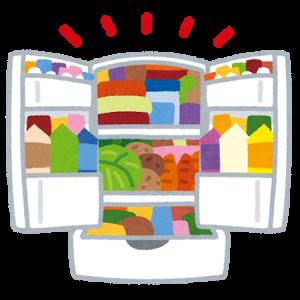 冷蔵庫に食品があふれかえってませんか。整理してますか?【専業主夫の断捨離】