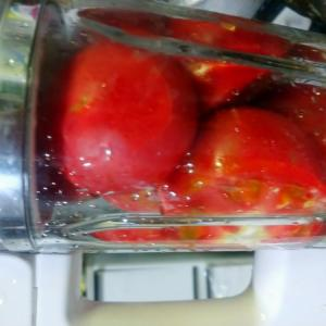 トマトソース作りました。