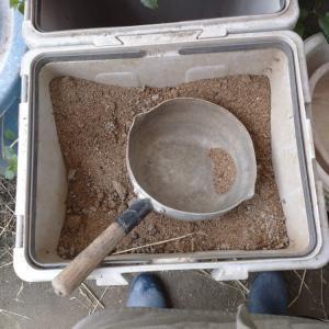 肥料の準備