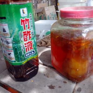竹酢液の虫よけ