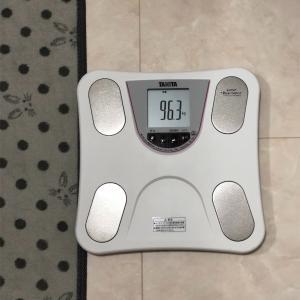 体脂肪率30%超えから始めるダイエット33日目