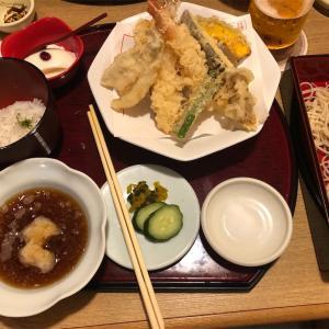 天ぷらが食べたくなったので久しぶりに、天ぷら左膳に行ってみた。