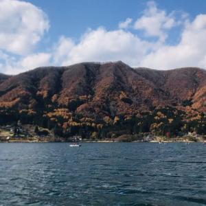 【木崎湖】晩秋は難しい・・・