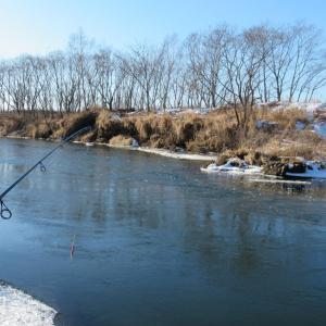なかなか厳しい冬の釣り・・・