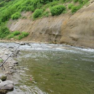 走古丹から虫類川へ・海へ山へ釣り歩き