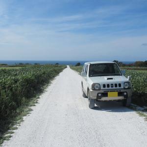 真~っ白な道と真~っすぐな道・白い道とエサヌカ線(稚内市・猿払村)
