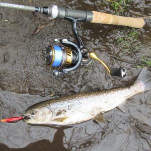 新パックロッドで試し釣り!