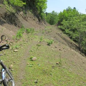 未開通の道・道道143号線とクオベツ林道