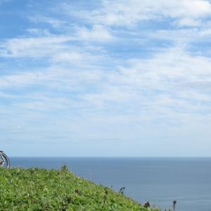 初秋の岬と砂浜ツーリング