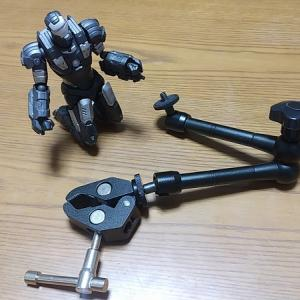 ベストアングル!フレキシブル マジックアーム+スーパークランプ