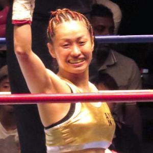 宮尾綾香 試合中止 説明無し ガッツファイティング & DANGAN231  ボクシング女子