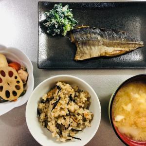 今日は和食ご飯