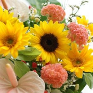 【今日のFlower note】お別れとエールのお花たち♪