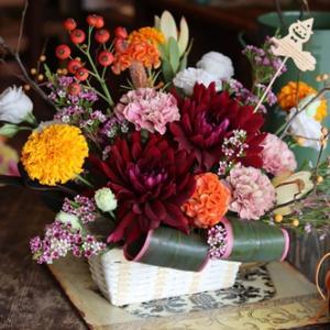 【上大岡の花屋】台風とお花と♪