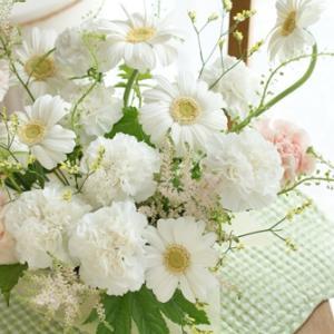 【今日の贈花】お悔やみのお花とコラボレッスン♪