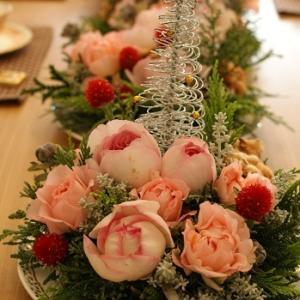 【残席僅かです】クリスマス生花アレンジレッスン♪