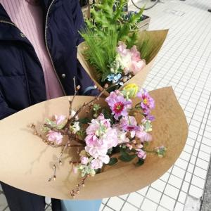 【1月29日&30日は】Flower noteのお花屋さん♪