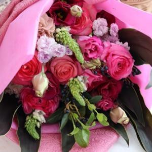 【今日の贈花】ピアノ発表会の花束は♪