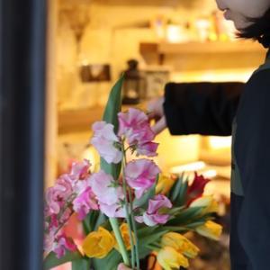 【花屋OPEN】今日もお待ちしています♪