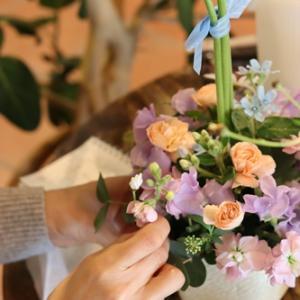 【花屋OPEN】お花を楽しむレッスンも毎月開催♪