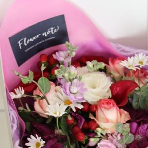 【今日の贈花】お友達の誕生日の朝にお届けします♪