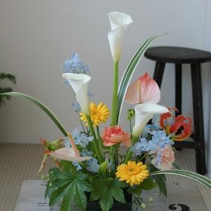 【再開します】6月の小さなお花の教室