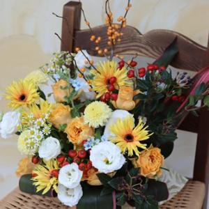 【今日の贈花】希望につながるお花を・・・♪
