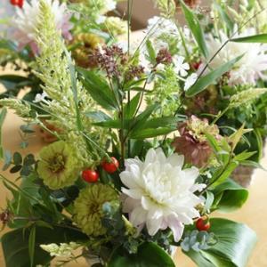 【募集します】9月の小さなお花の教室 初秋を楽しむ ♪
