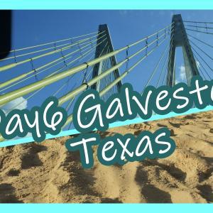 【Galveston】ルイジアナ旅行記8ーテキサス州の海で遊ぶ!【建築も】