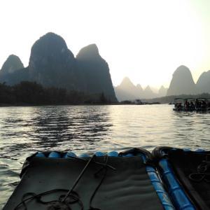 中国桂林のおススメ観光スポット、20元札の景色を見に行ってみた!!