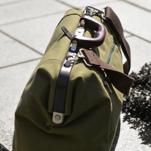 夏にオススメの帆布ダレスバッグ(兵庫県豊岡製)
