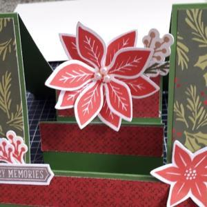 ステップカードその3はクリスマス