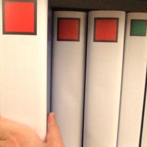 【収納場所】ファイルボックスに入れた書類、ここに置くのはNGです!