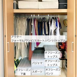 服の枚数を数えてみたら、〇〇枚でした!!多い?少ない?