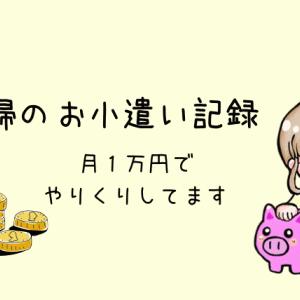 【パート主婦】2019年8月 おこづかい記録