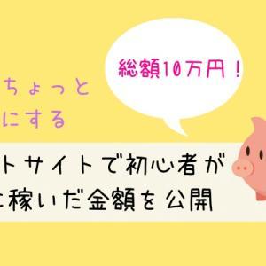 【ポイントサイトは初心者におすすめの副業】私が実際に10万円稼いだサイト