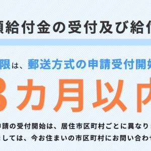 【3ヶ月以内】マレーシアから特別給付金10万円の申請を出しました