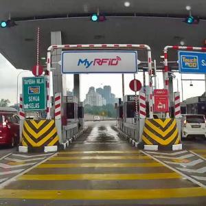 RFID Tag|マレーシアのETCで高速道路料金支払い