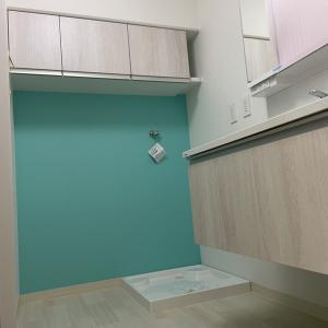 大阪市北区マンション、洗面化粧台交換